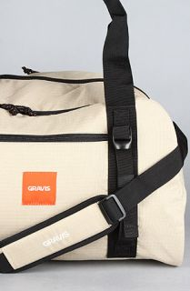 Gravis The Travel Duffle Bag in Khaki Black