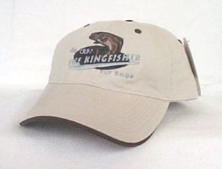 Kingfisher Fly Shop Trout Fishing Ball Cap Hat OURAY