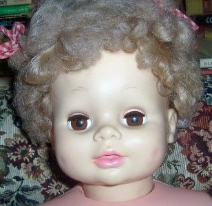 Vintage 1978 Eugene 31 Sweet Dimples Playpal Companion Doll Mannequin