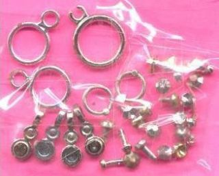 Original Barbie Jewelry Silver Ring Earrings For Replacements
