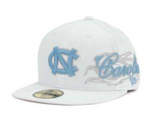 New New Era UNC Tarheels NCAA Lux Fitted Cap Hat $32