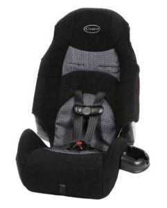 Cosco Highback Booster Baby Car Seat 5 Point Harness 20 80 Pounds