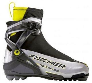 New Fischer RC5 Combi Skate Classic Cross Country NNN Ski Boots Sz 42