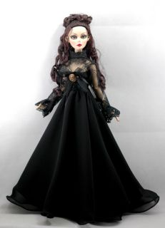 Evangeline Ghastly 17 black vintage gown dress