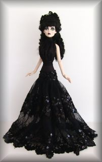OOAK Fashions for Evangeline Ghastly French Lace by Dao