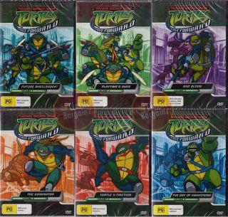Teenage Mutant Ninja Turtles Fast Forward Volume 1 2 3 4 5 6 DVD NEW