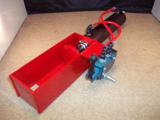 Flair Line 2 inch Bore Mac Valve Air Powered Pneumatic Can Crusher