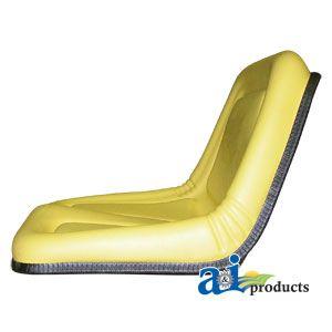 JOHN DEERE REPLACEMENT SEAT TY15863 STX30, STX38, 130, 160, 165, 316
