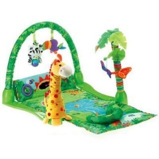 Fisher Price Baby Musical Activity Center Gym Play Mat   3 Grow w/ Me