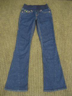 Maternity Jeans Joey Stretch Flare Dark Stone Size 27 XS Small