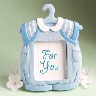 24 Baby Boy Onesie Picture Frame Baby Shower Favors