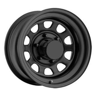 Pro Comp® Style 52 Rock Crawler Steel Wheel in Flat Black for 76 06
