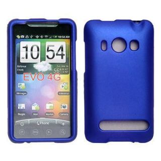 Blue Hard Case Cover Skin for Phone HTC EVO 4G Sprint
