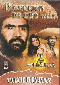 Coleccion De Oro Vicente Fernandez Vol. IV DVD NEW 2 Pk La Ley Del