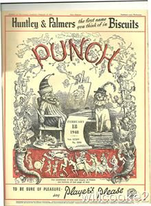February 18th 1948 Original Punch Magazine or The London Charvari