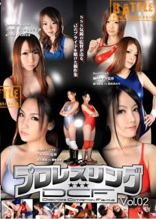 2012 Female Women Wrestling 3 MATCHES DVD Pro 100 MINUTES Japanese