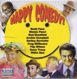 Happy Comedy Flip Wilson Minnie Pearl Redd Foxx Gene Tracy Willie Dan