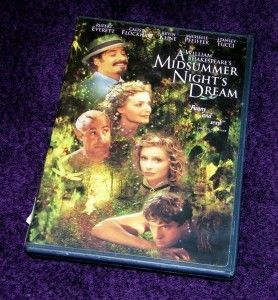 Midsummer Nights Dream DVD Michelle Pfeiffer Free SHIP