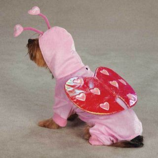 Pet Apparel Clothing Love Bug Valentines Day Dog Costume
