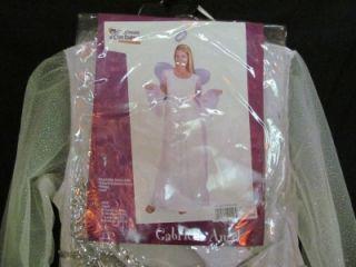 New California Costume Gabriella Angel Sz L Adult Halloween Costume