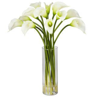 Large Artificial Silk Calla Lily Flower Arrangement