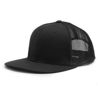 Mesh Trucker Flat Bill Snapback Baseball Ball Cap Caps Hat Hats