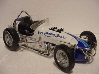 Parnelli Jones Fike Plumbing Special Vintage Sprint GMP 1 18 Race Car