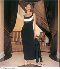 Vtg Daymor Couture C Mercedes Ferreira Gown Black 8