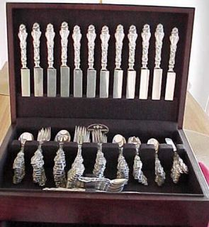 Fab Whiting Lily Sterling Silver Dinner Lunch Set 147pc