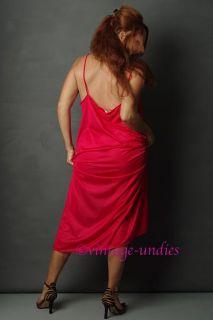 Soft Moments New York 100 Nylon Dress Gown Nighty Size 2X XXL