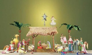 Brewster Krinkles 2012 Christmas Holy Nativity Complete Set/28