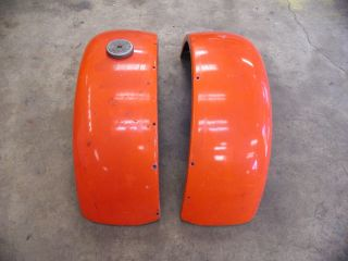 1930 1931 REAR FENDERS FIBERGLASS STREET HOT RAT ROD RUMBLE SEAT STEP