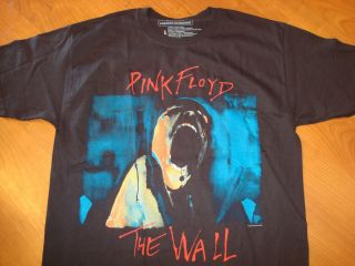 PINK FLOYD THE WALL BLACK NEW DEADSTOCK shirt Size MENS LARGE t shirt