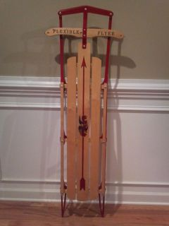 Flexible Flyer Snow Sled 60 Long Pre Owned Never Used