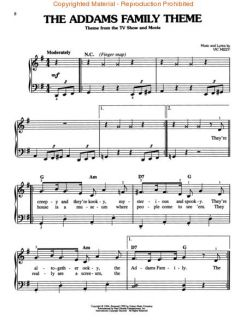 The Halloween Songbook Easy Piano Song Book Sheet Music