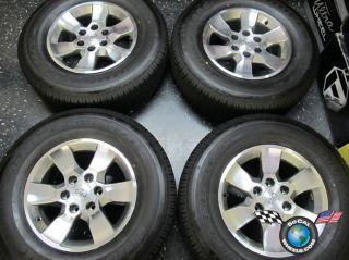 10 12 Toyota 4Runner Factory 17 Wheels Tires OEM Rims Tundra Tacoma FJ