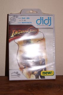 New Leap Frog Didj Indian Jones Math Facts Ages 7 10