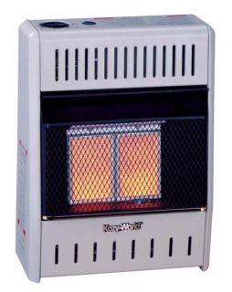 Ventless Gas Plaque Heater Fireplace Propane LP Wall