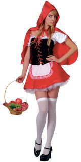 Fairytale Fancy Dress Story Book Ladies Costume Outfit Stockings Size