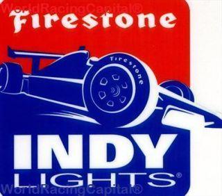 NEW 2012 FIRESTONE INDY LIGHTS CAR PRO SERIES STICKER DECAL MINT