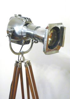 VINTAGE FILM LAMP INDUSTRIAL ANTIQUE FLOOR LOFT LIGHT ART DECO MACHINE