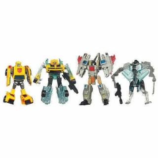 Transformers DOTM Starscream Bumblebee Action Figures