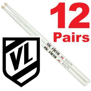 Vic Firth Buddy Rich Wood Tip Drum Sticks SBR 12 PR