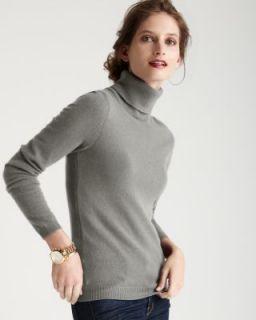 Christopher Fischer New Light Gray Long Sleeve Turtleneck Sweater Top