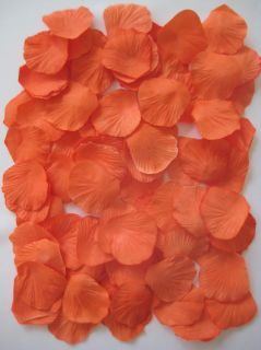 1000 Palm Beach Coral Silk Rose Petals Wedding