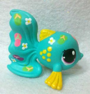 Flip Flop Fish OOAK Hand Painted Custom Littlest Pet Shop