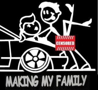 Making My Family Sticker Suit JDM BNS B s s14 300zx STI HSV FPV GT SS