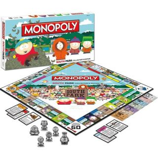 South Park Characters Collectors Edition CE Family Board Game