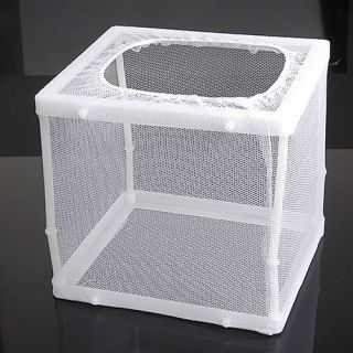 Fish Aquarium Tank Egg Net Breeder Trap Baby Hatchery