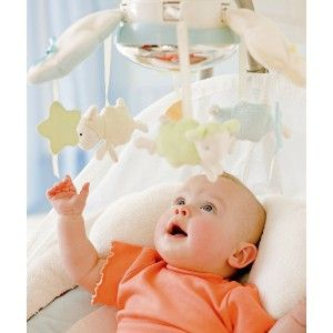 NEW FISHER PRICE MY LITTLE LAMB CRADLE N SWING Infant Baby Music